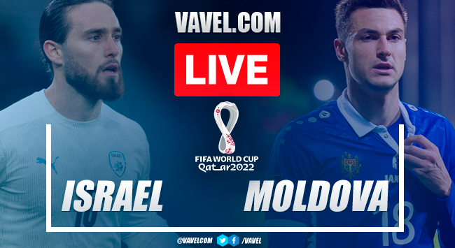 Goals and highlights: Israel 2-1 Moldova in UEFA qualifiers for Qatar 2022