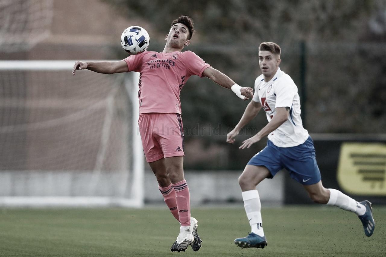 Hugo Duro, primer goleador del Real Madrid Castilla 20/21