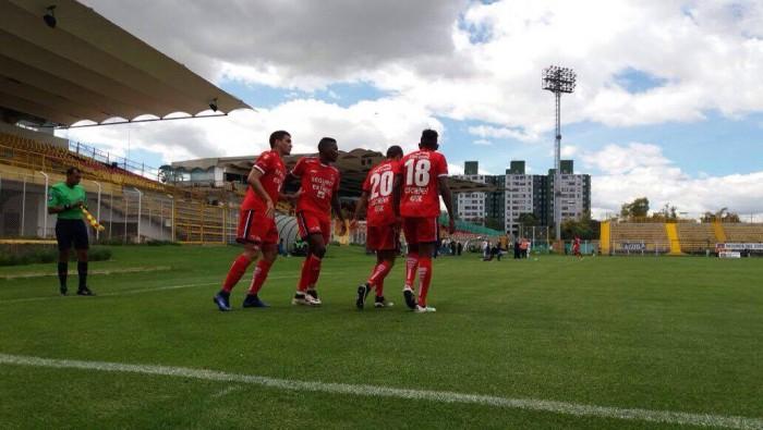 Fortaleza sumó en su techo contra Rionegro Águilas
