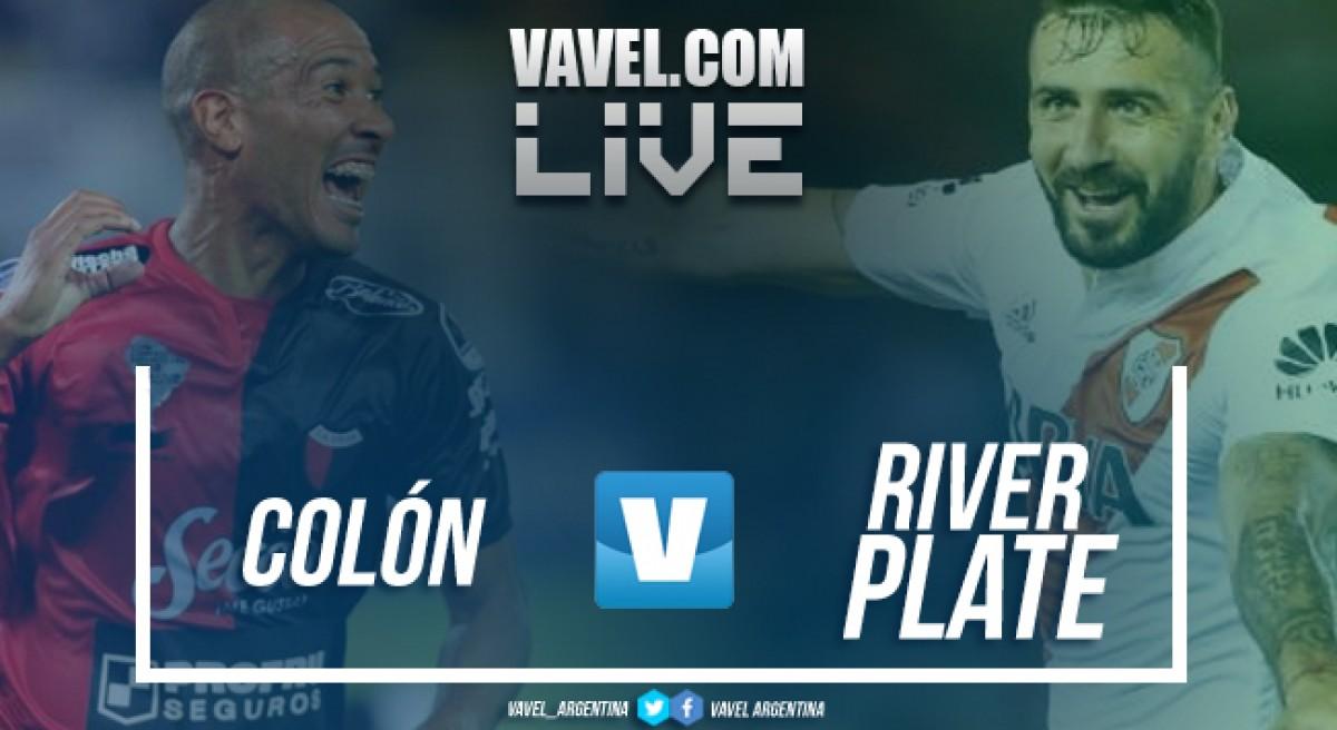 Resumen Colón 0-0 River en Superliga 2018