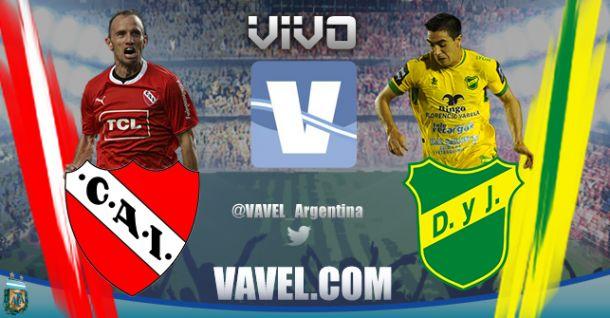 Resultado Independiente - Defensa y Justicia 2014 (1-1)