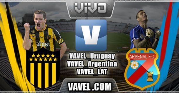 Resultado Peñarol - Arsenal Copa Libertadores 2014 (2-1)