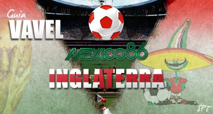 Guía VAVEL Mundial México 1986: Inglaterra