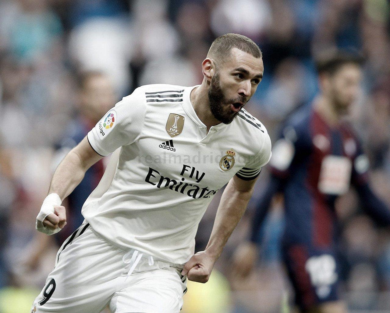 Karim Benzema, elegido mejor jugador ante el Éibar
