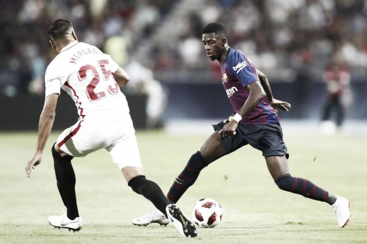 Así ha sido la actuación de los jugadores del Barça en la final de la Supercopa de España