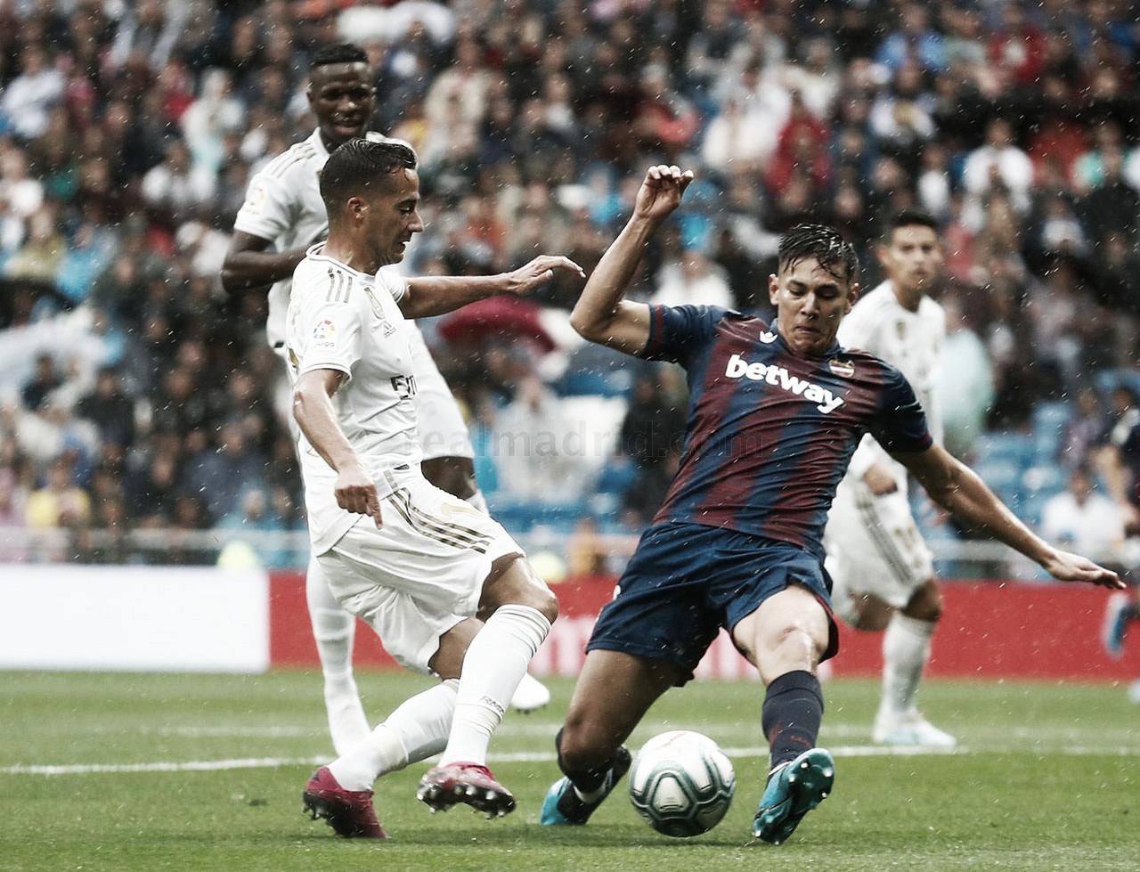 Courtois y Lucas Vázquez hacen autocrítica del 3-2
