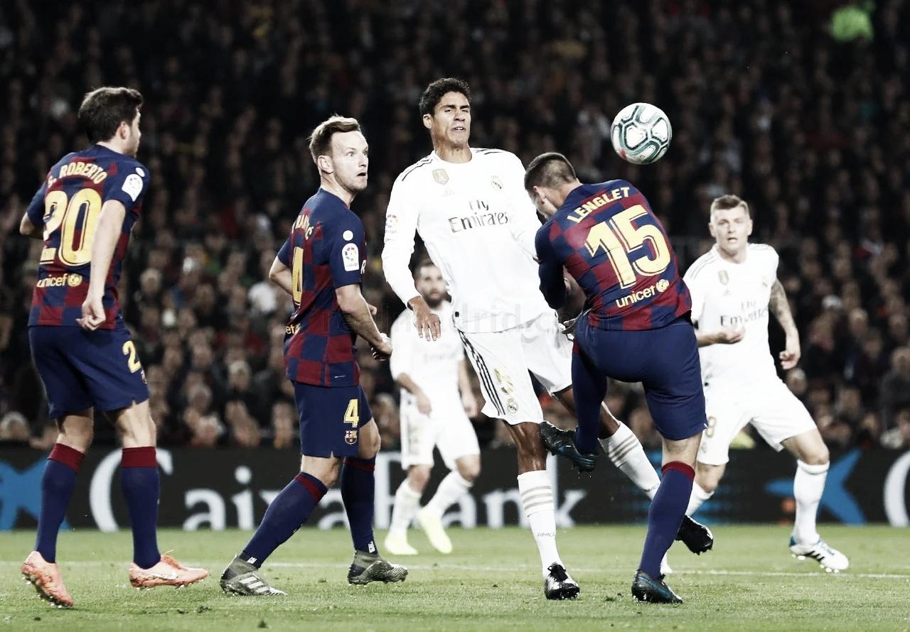 Contracrónica: clásico atípico sin Barça ni VAR pero con baño blanco