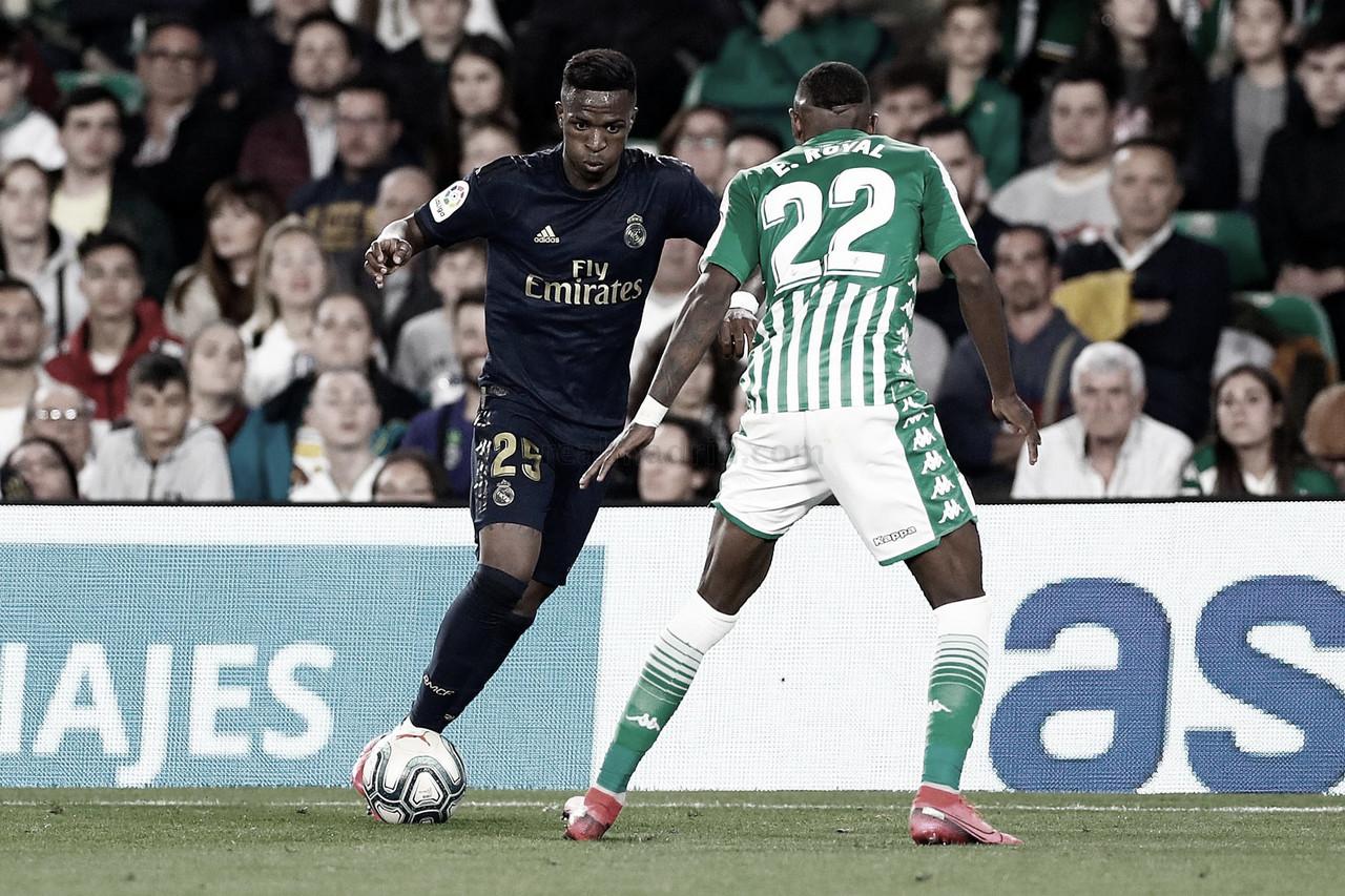 Real Betis vs Real Madrid en VIVO y en DIRECTO online en LaLiga Santander 2020