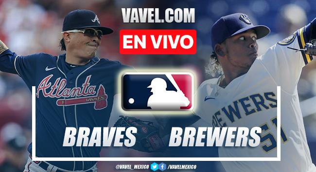 Resumen del Brewers 4-5 Braves en MLB 2021 NLDS Game 4