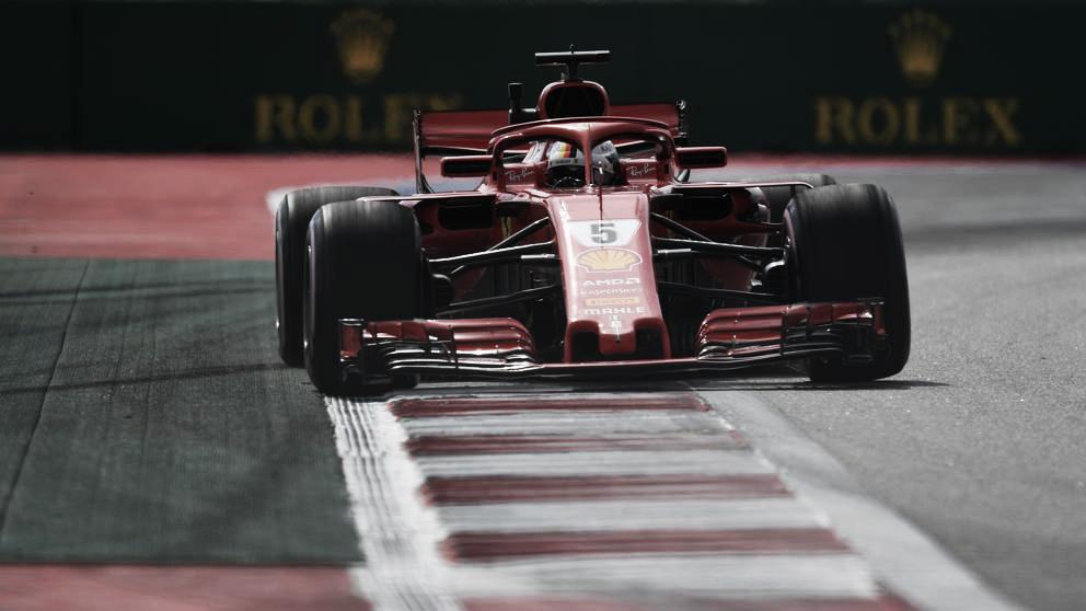 Vettel y Hamilton comparten el viernes ruso