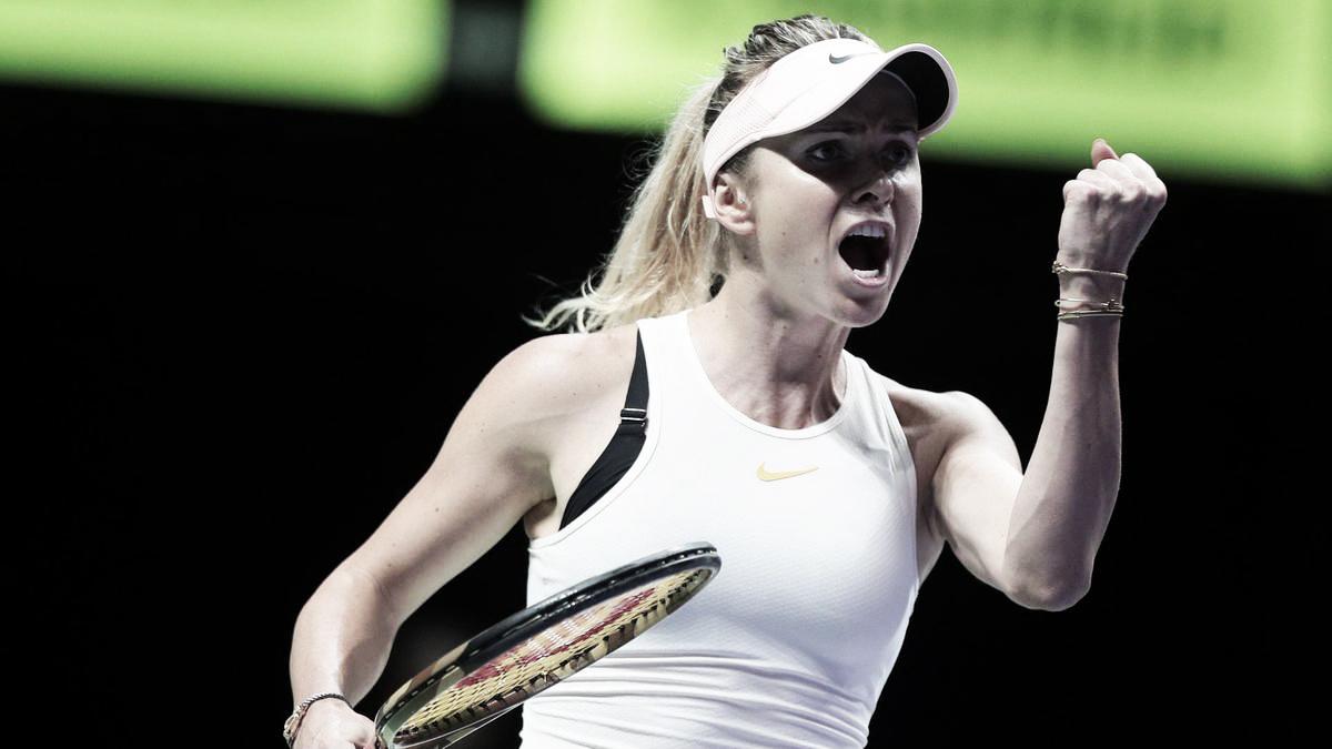 Sólido debut de Svitolina en el WTA Finals