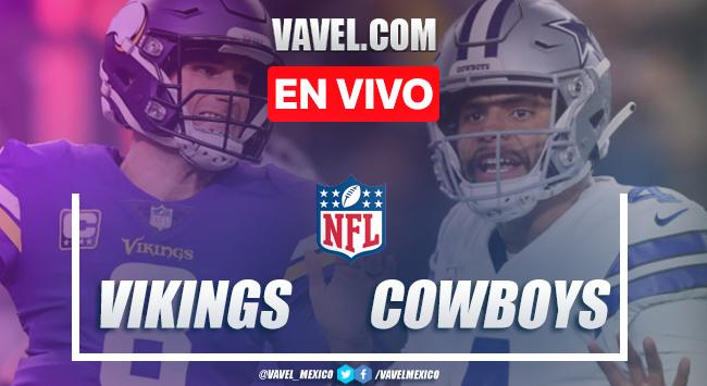 Resumen y touchdowns: Dallas Cowboys 24-28 Minnesota Vikings