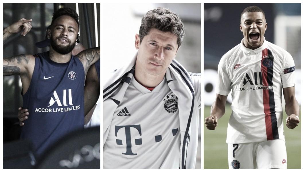 Neymar e Lewandowski estão entre mais cotados para prêmio de melhor do mundo; veja lista