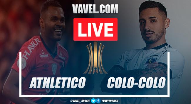 Athletico-PR x Colo-Colo AO VIVO: jogo em tempo real pela Copa Libertadores 2020