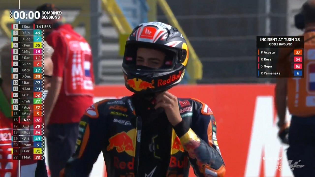 Gp Olanda: Classifica combinata Moto3 per le qualifiche