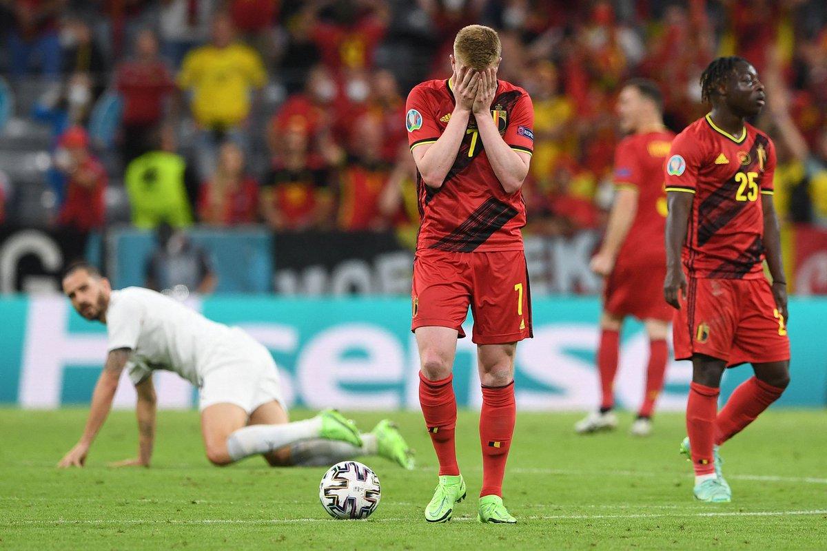 EURO 2020: Non sempre vince il più forte. Italia batte Belgio 2-1