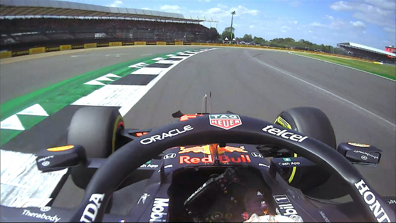 Gp Gran Bretagna: Verstappen domina le prime libere