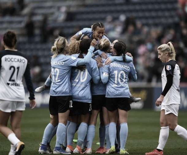 Chicago Red Stars Defeat North Carolina Courage 3-1