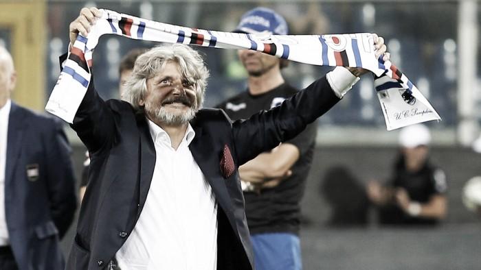"""Sampdoria, Ferrero si gode un Muriel in gran forma: """"Ho sempre creduto in lui, lo paragono spesso a Ronaldo"""""""