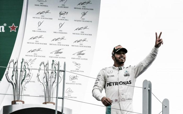 Gracias a la estrategia, Hamilton ganó en Canadá