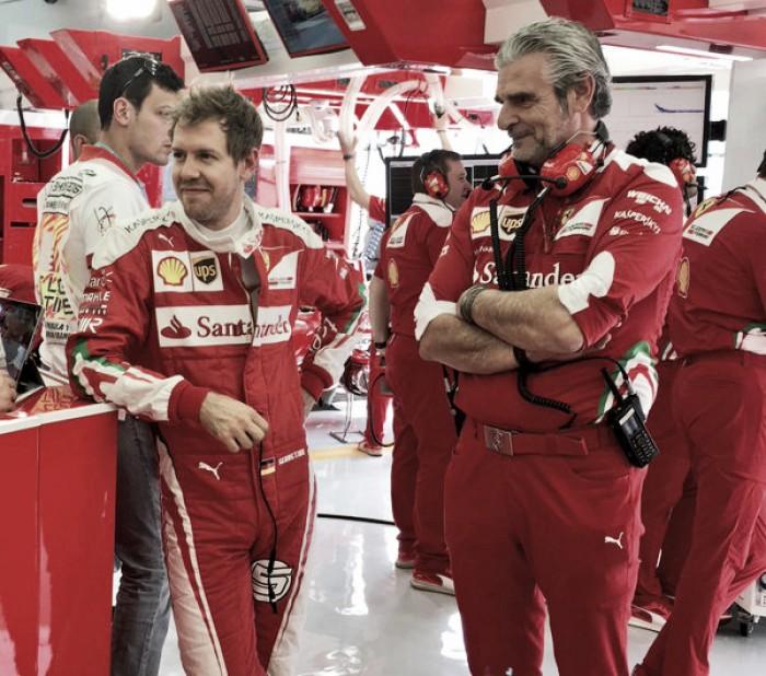 """Vettel: """"El formato de clasificación es una mierda"""""""
