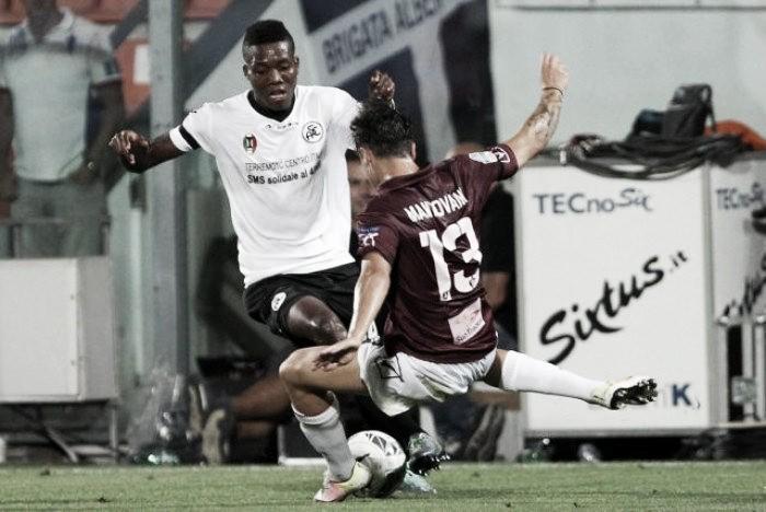Serie B, Spezia e Salernitana si dividono la posta in palio: 1-1 al Picco