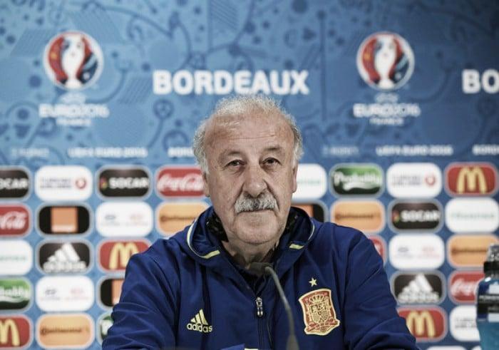 """Euro 2016, Del Bosque spegne le polemiche sulla vicenda Pedro: """"Si è scusato, non lo punirò"""""""