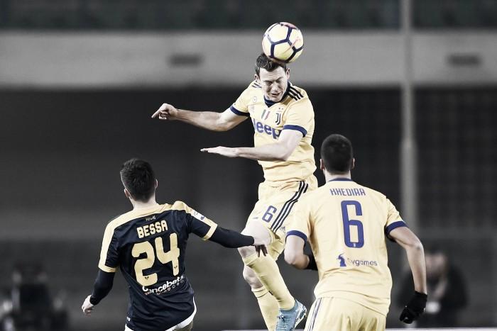 La Juve batte l'Hellas a Verona, Pecchia commenta: