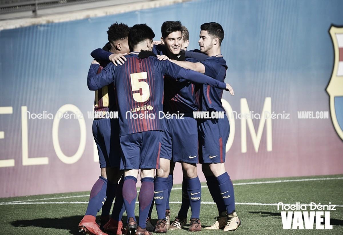 Los azulgranas de la Sub17 eliminados con España del Euro