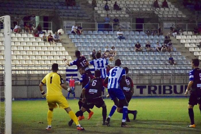 Un mermado Lorca Deportiva sorprende al Extremadura (1-1)