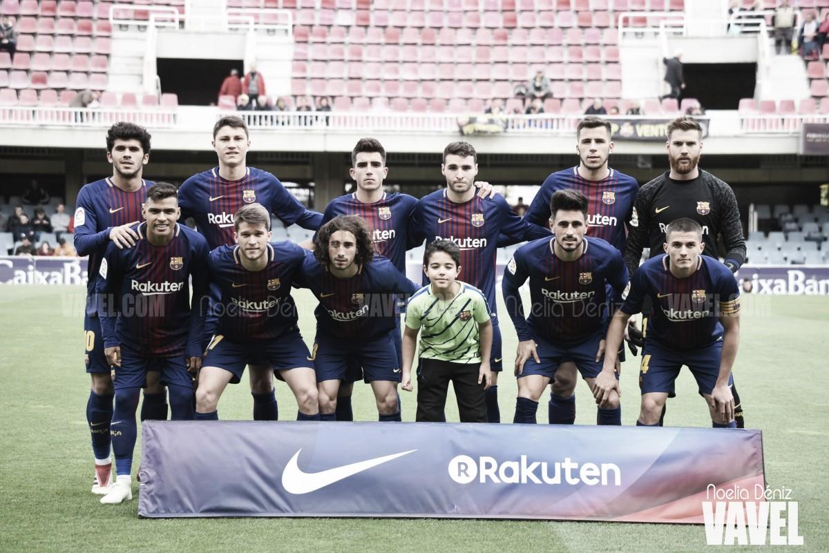 FC Barcelona B - Cultural Leonesa: puntuaciones Barça B, jornada 34 de la Liga 123