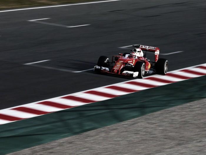 Raikkonen voló en Barcelona