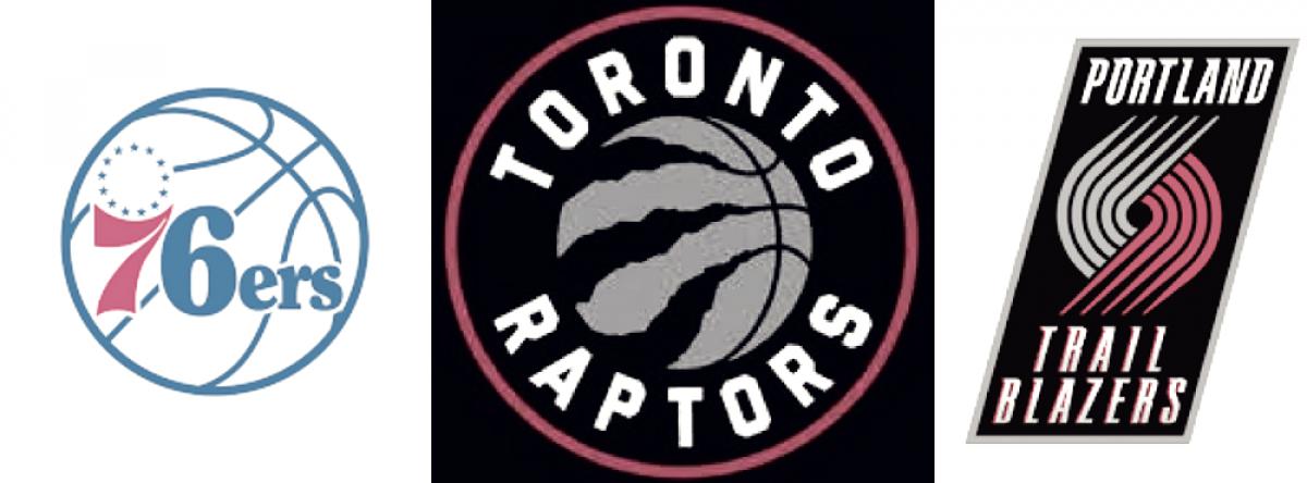 Blazers sorprendió y 76ers ganó al igual que Raptors