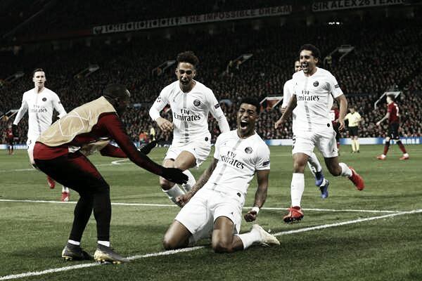 PSG vence na Inglaterra e abre vantagem contra Manchester United