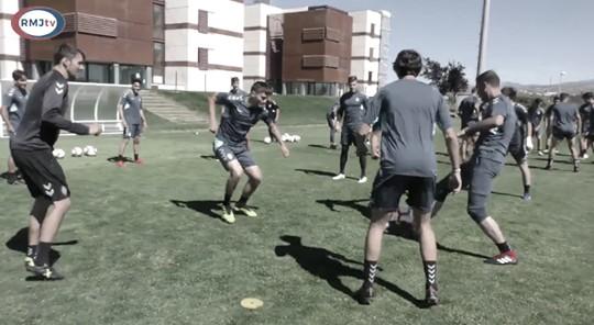 Tercera sesión antes de visitar al Oviedo