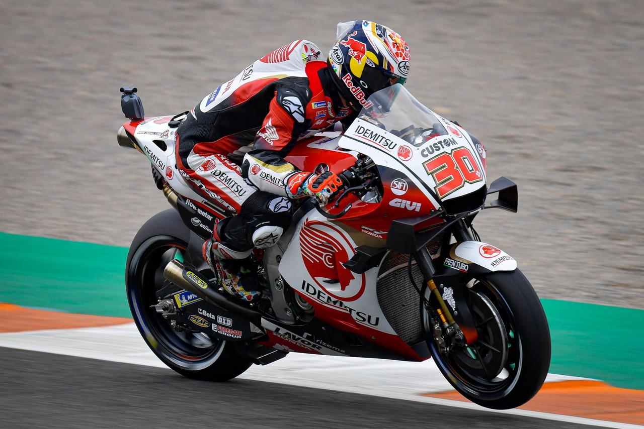 FP1 MotoGP GP Valencia: Nakagami marca el mejor registro