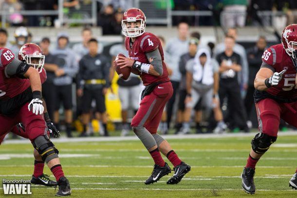 Luke Falk Record Day Leads Washington State Cougars To Big Win Over Oregon State Beavers