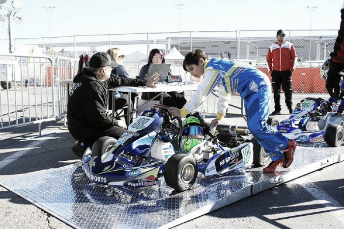 Rafael Câmara, tem estreia positiva no SKUSA de Kart em Las Vegas
