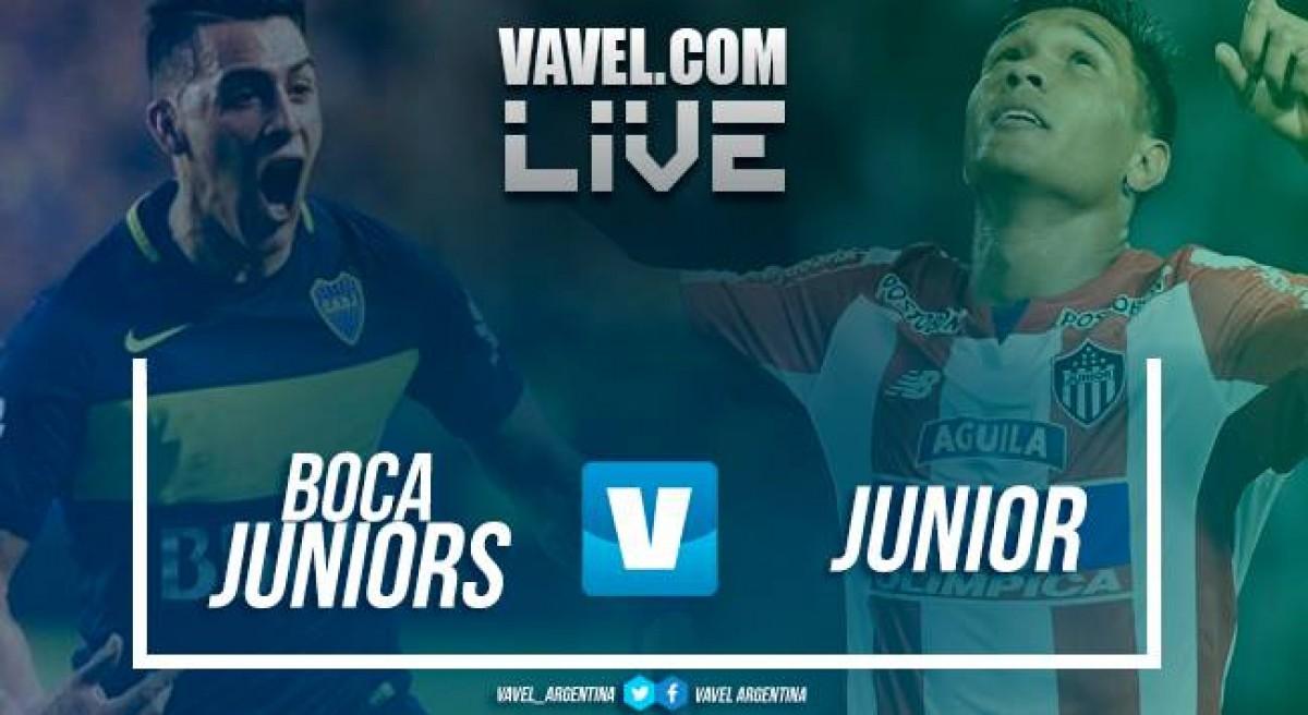 Resumen Boca Juniors 1-0 Junior en Copa Libertadores 2018