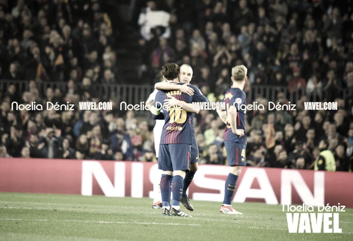 Iniesta y Messi cumplirán 100 partidos juntos en Champions