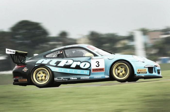 Sérgio Jimenez e Rodrigo Baptista confiantes pela conquista do título da Porsche GT3 Cup em São Paulo