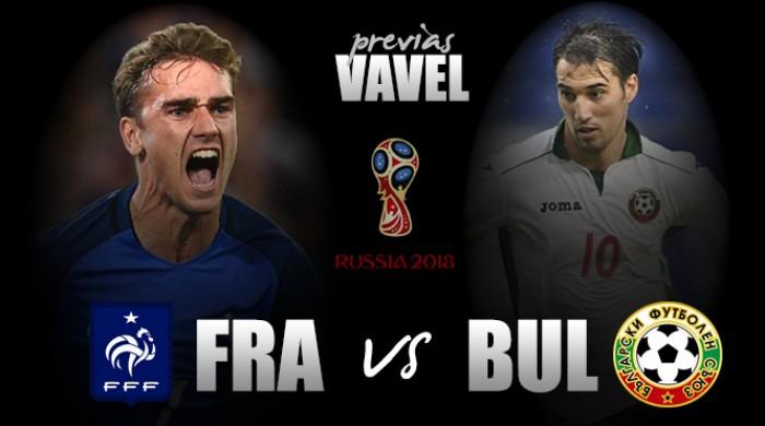 Buscando primeira vitória, França recebe Bulgária pelo Grupo A das Eliminatórias