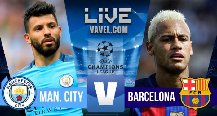 Resultado Manchester City x Barcelona pela Uefa Champions League 2016/17 (3-1)