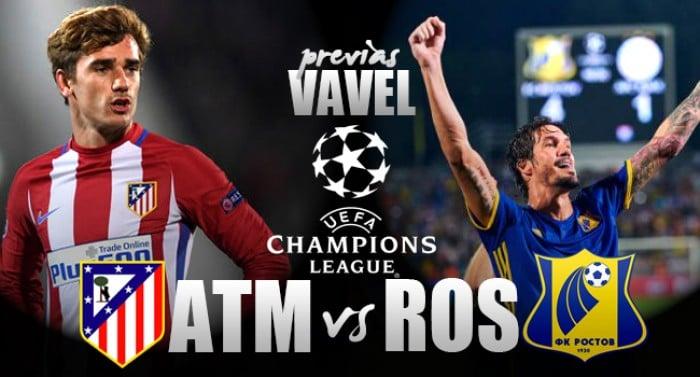 Champions League - Atletico, con il Rostov per la fuga