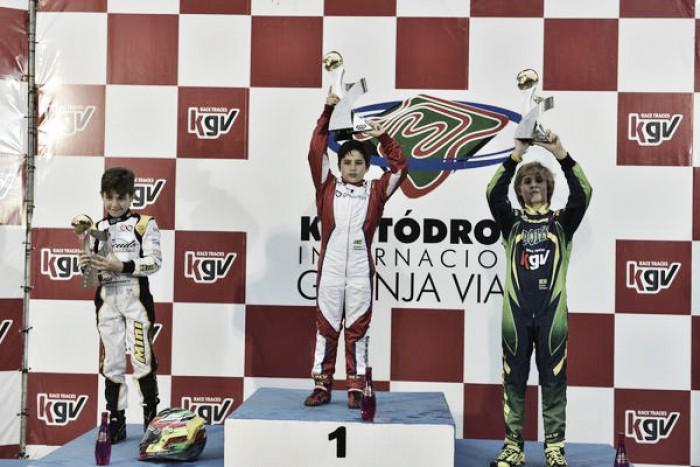 Rafael Câmara é bicampeão da Copa SP de Kart KGV na Granja Viana