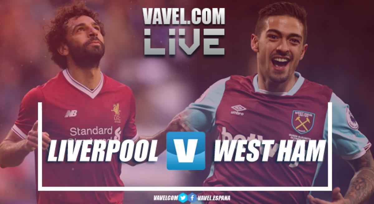 Resumen Liverpool 4-0 West Ham en Premier League 2018