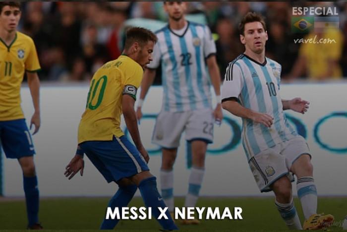Neymar x Messi: quem leva vantagem no confronto direto pelas seleções?