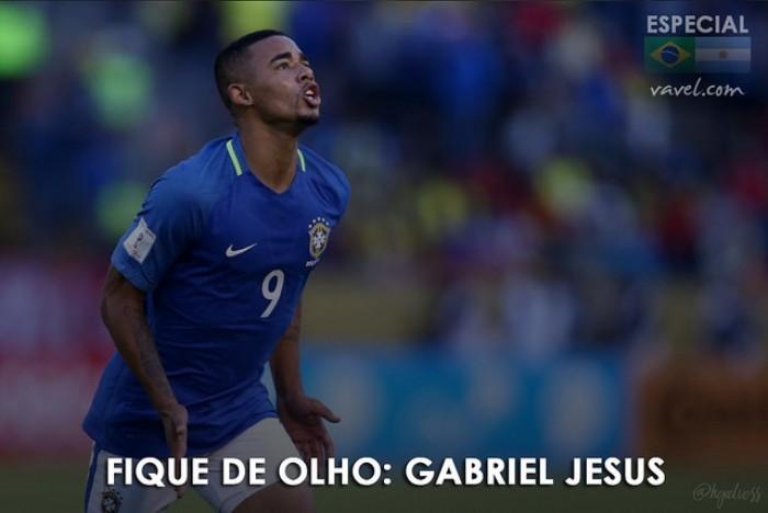 Fique de olho: Gabriel Jesus, atacante da Seleção Brasileira