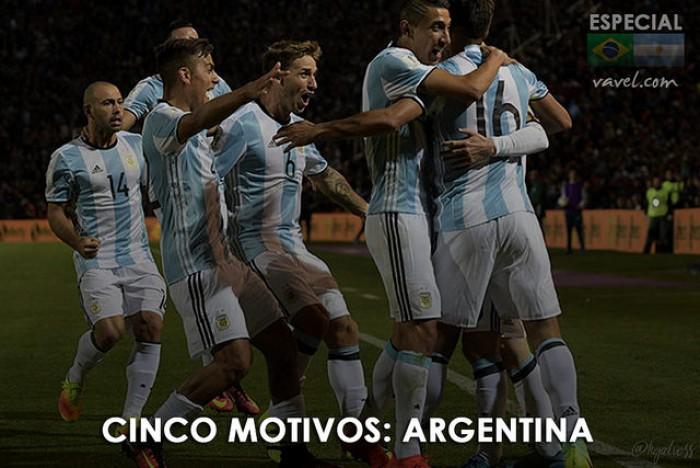 Eliminatórias: cinco motivos para acreditar na vitória da Argentina contra o Brasil
