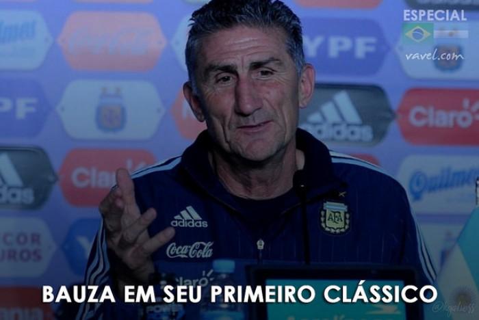 O que esperar de Bauza em seu primeiro Brasil x Argentina?